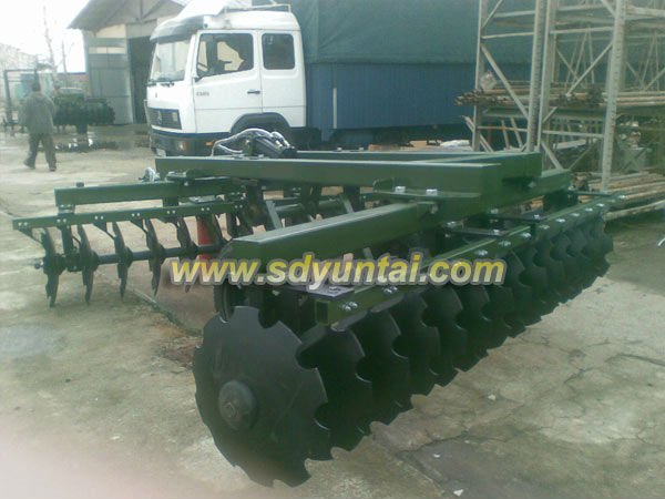 New designed heavy hydraulic harrow ON PROMOTION heavy duty offset disc harrow/Drag Harrow/Hydraulic Harrow factory supplier
