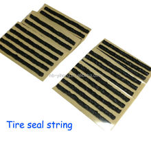 "25 pcs Tire plug seal 4"" Self-vulcanizing Tubeless Repair Seal Strings rubber strip Inserts"