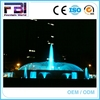 Hotel and square programmable programmable water fountain led light water fountain