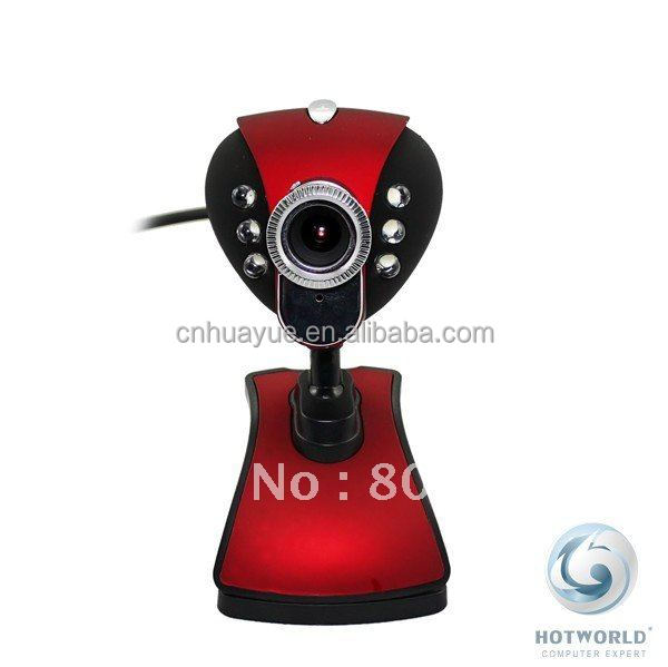 red optical zoom free driver usb2.0 webcam