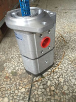 Concrete pump trailers spare parts double gear pump for construction machinery
