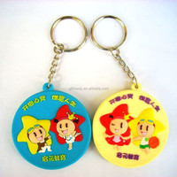 Alibaba express business promotion gifts Keychains in 3D Soft PVC