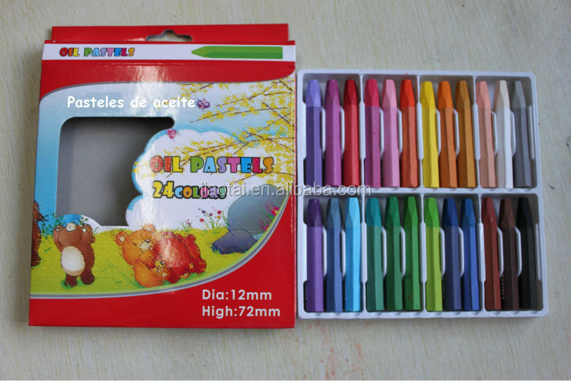 High qaulity Dia 1.1*7.2cm pastel pencil for Kids