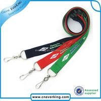 eco-friendly make your own design polyester lanyard,lanyard by golden supplier