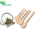 Personalized good disposable wooden spoon sets utensils