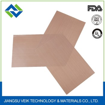 0.2 MM Brown Teflon coated glass fabric EASY CLEAN baking mat