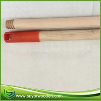 Machine Making Wood Wooden Handle With Hook Cap For Broom