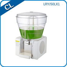 commercial new design big tank 50L with sprayiing pole tape fruit dispenser commercial fruit juice making machine