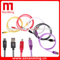 Cheap Price Data transfer and charging usb spring cable