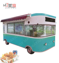 Multifunctional fast food truck for sale/street legal electric car/mobile food vending truck