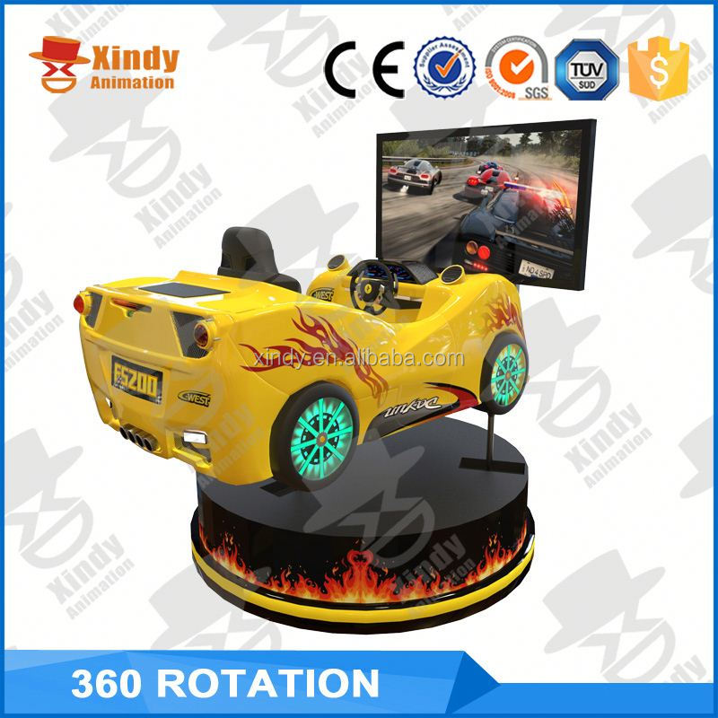 2016 cheap price VR google 2 player car racing games 4d simulator