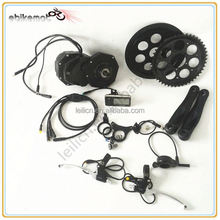 mid drive bike motor/36v 500w mid-drive motor conversion kits with integrated controller made in china
