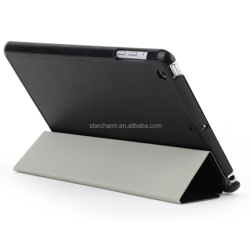 With stand function Pu leather flip case for Ipad Mini 2