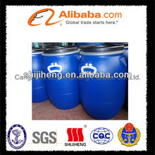 chemical drum with blue dody +blakc lid+white handle