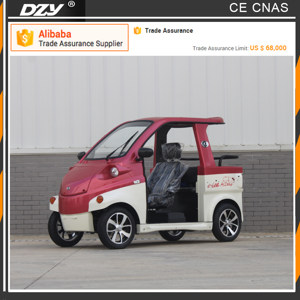 CE EEC Certificate four Wheel fast speed electric mini car