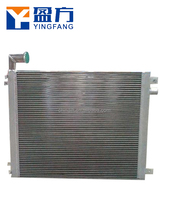OEM hydraulic excavator DH370-7 DX260 DX300 aluminum oil cooler oil element Air Cooler/After Cooler for sale