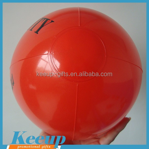 Red PVC Free Beach Jump Ball for Promotional Items