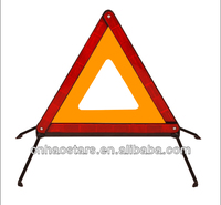 Car Safety Triangle with Emark Of Reflective Material Auto Parts