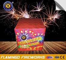 Hot sale brands 25S Thunder King display cake fireworks for fireworks show
