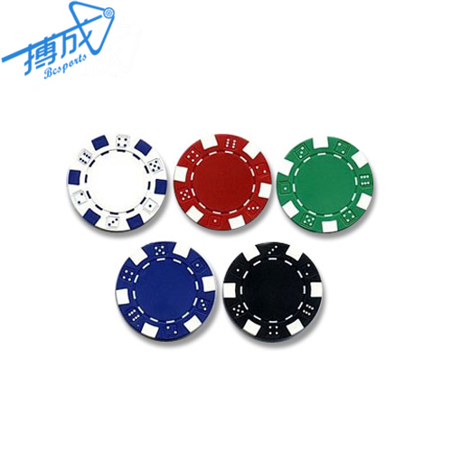Metal/clay Poker Chips For Casino Gaming, Custom Casino Gamble Card Game Metal Clip