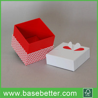 Designed Cardboard Box Jewelry Display Box