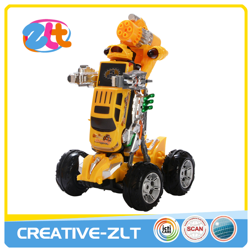 Hot popular seven channel deformation rc play car for sale