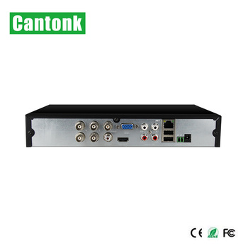 Cantonk H.265 5MP 5-IN-1 4CH XVR with 30fps