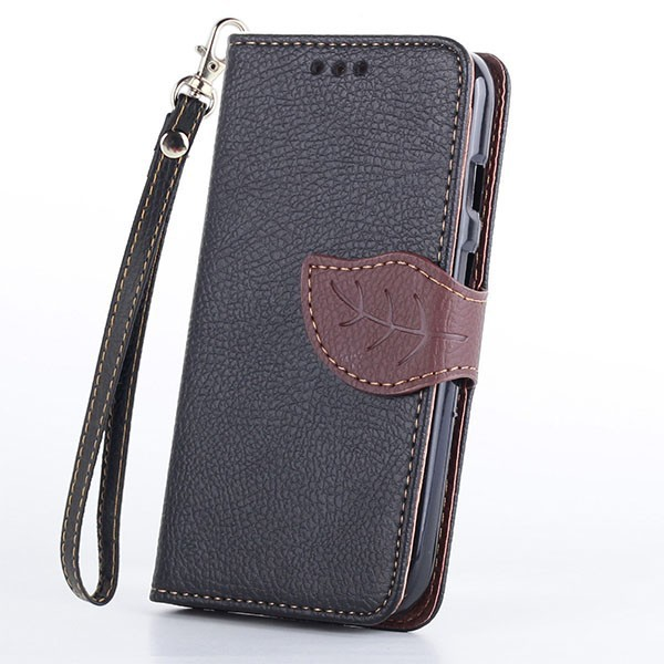 Flip Leaf Magnetic Leather Wallet Card Case Cover for Motorola Moto G