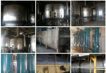 granulated brown sugar factory equipments