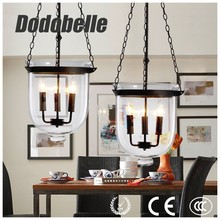 Bohemia crystal shade retro lamp like hat trick pendant lamp for dining room/ bar / hotel interior be magnificient decor