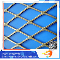 Best price diamond 3.0 thickness aluminum expanded metal/Expandable metal walkway mesh (factory sales)