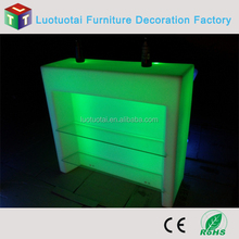 led bar counter rechargeable battery operated led straight bar counter
