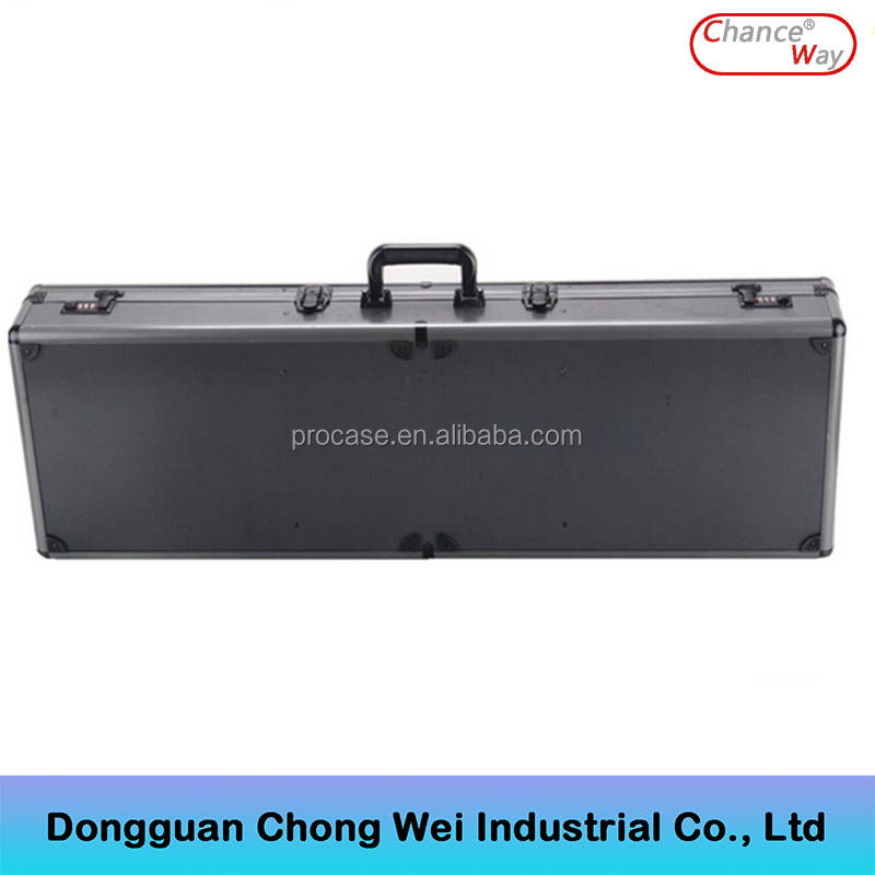 Top Quality Long Black ABS Portable Shotgun Rifle Case, Pistol Case