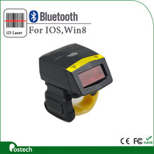 High-quality Mini Portable Wireless 2D Laser Bluetooth Barcode Scanner FS02 Reader for Apple IOS Android Windows