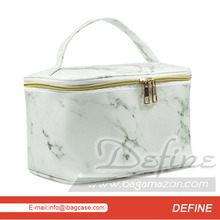 Marble Makeup Case Stylish Cosmetic Bag Makeup Organizer OEM Supplier