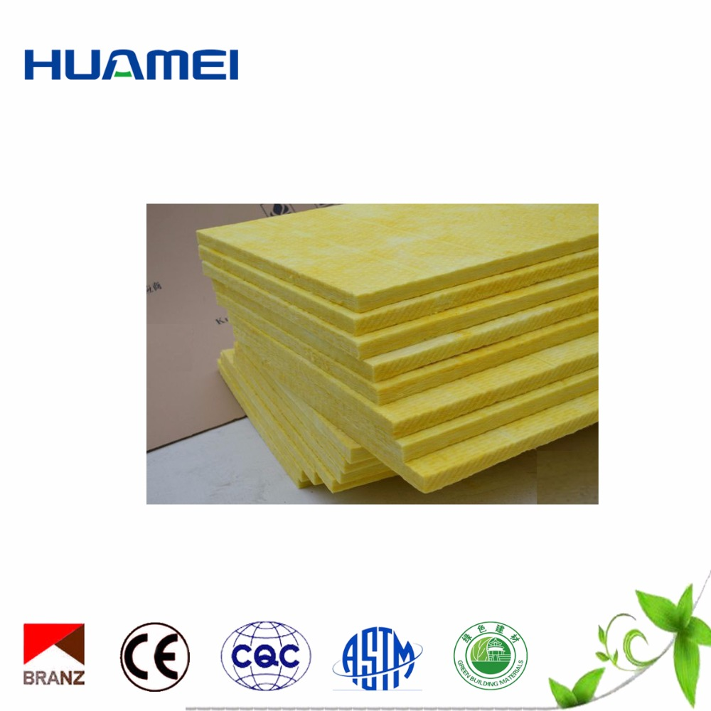 Yellow aluminum foil fiberglass insulation board