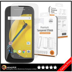 Keno For Motorola Moto E2 Clear Transparent Screen Protector, Screen Film, Screen Guard