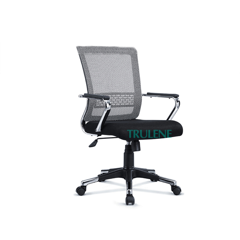 2019 black high back swivel height adjustable meeting chair office visitor chair office chair made in china