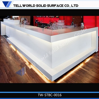 Restaurant bar counter design attractive western style bar counters juice bar counter for sale