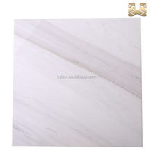 Newest design top quality pure white marble tile polished