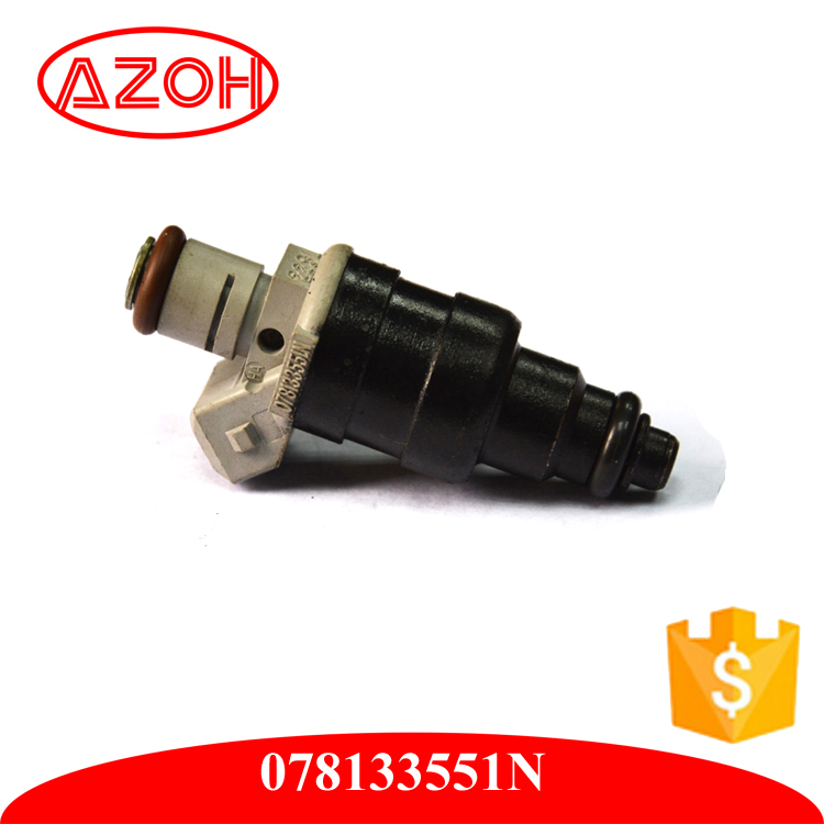 Replacement Siemens Car Original Auto Parts Flow Matched Fuel Injector 078133551N for 94-98 Audi A4 2.8, VW V6