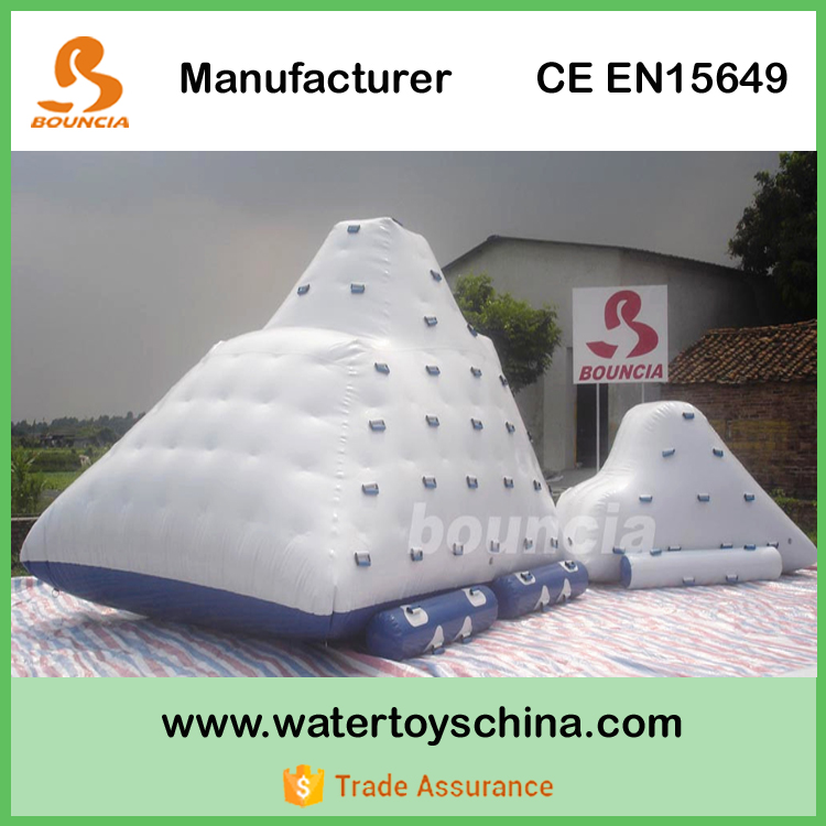 Inflatable Water Floating Iceberg, Pool Inflatable Iceberg Toys For Sale