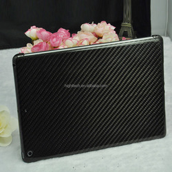 Real Pure 100% Carbon Fiber Glossy Hard Back Case Cover for iPad Air