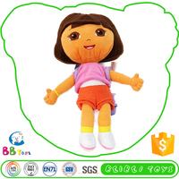 High Standard Competitive Price Custom Stuffed Animals Dora Backpack Female Doll