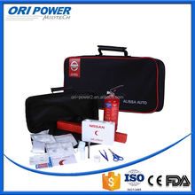 OP CE FDA ISO approved wholesale handy black car road emergency kit