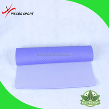 color selection 100% natural rubber yoga mat, environmental fitness mat manufacture