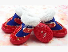 Pet Shoe Socks For Dogs Cats High Heel Fur Boots