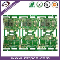 printed circuit board with HASL