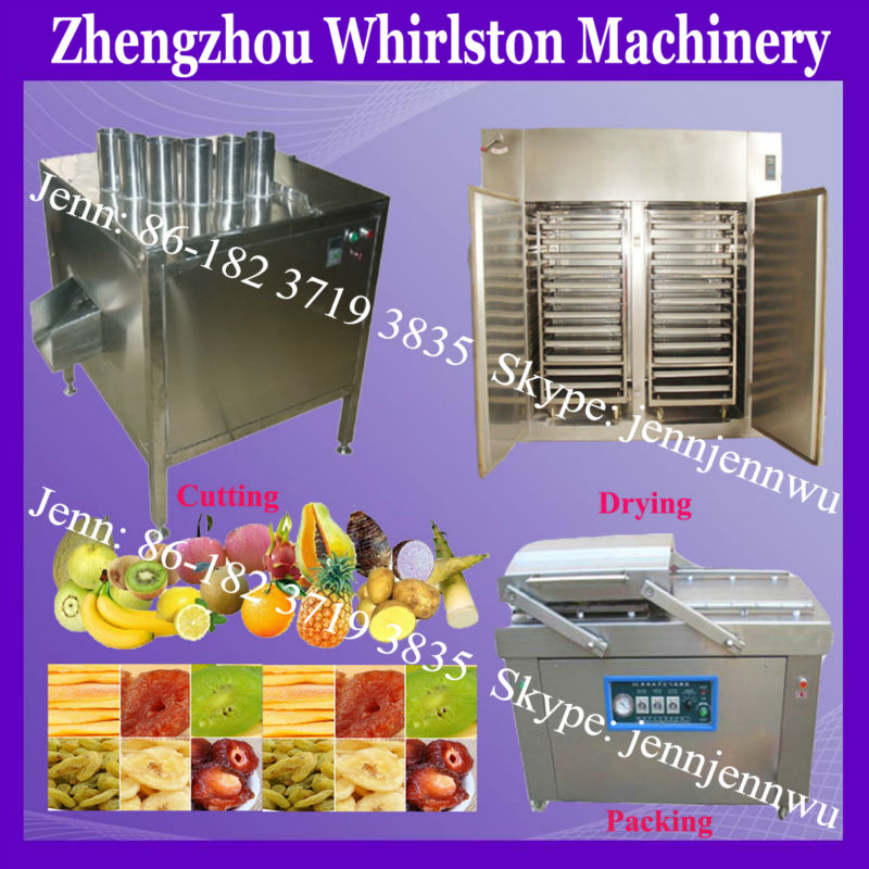 price of fruit drying machine/apple chips production line