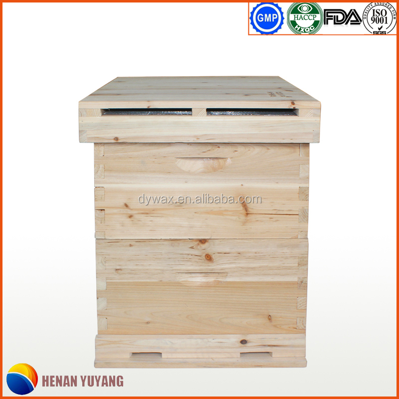 Manufacturer supply langstroth bee hive, wooden beehive